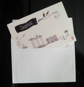 Sophie card envelope