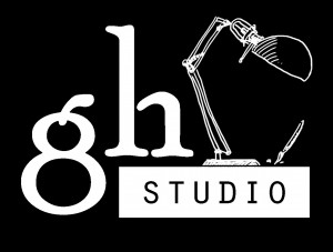 GH studio logo layers merged B&W inverted